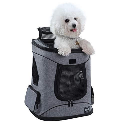 Petsfit Stoff Faltbarer Haustiertragetasche für Hunde und Katzen, Rucksack, 43cm x 32cm x 29cm -