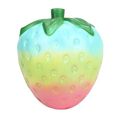 (Bescita Jumbo Galaxy Rainbow Erdbeere duftenden Squishy Cute Spielzeug Charme langsam steigenden Stressabbau Spielzeug 11.5 cm)