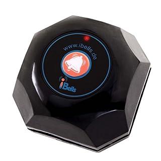 Rufsender APE560 (Schwarz) | Bestandteil des APE Ruf-Sets | Kompatibel mit alle APE-Serie Empfänger