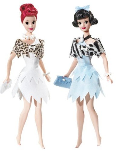 Barbie Collector Silver Label - THE FLINTSTONES - BETTY AND WILMA