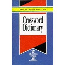 Crossword Dictionary (Brockhampton Reference Series (English Language))