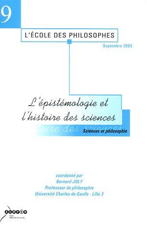L'épistémologie et l'histoire des sciences