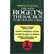 Roget's Thesaurus in Dictionary