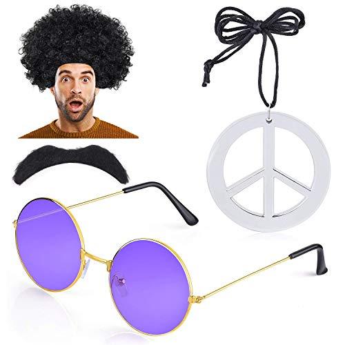 1960er Hippie Kostüm - Haichen Hippie Kostüm Herren 1970er 60er