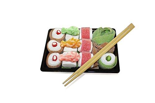 Preisvergleich Produktbild Sweet Sushi – 240g Schaumzucker- und Fruchtgummimischung (Süßes Sushi)