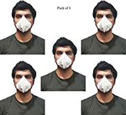 Woschmann-With Filter Mask Good for Air Pollution Germs (Pack of 5)