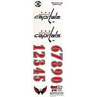 Helmsticker Set NHL Sportstar Team Washington Capitals dunkler Helm