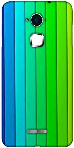 Snoogg Flow design 2379 Designer Protective Back Case Cover For Coolpad Note 3 (White, 16GB)