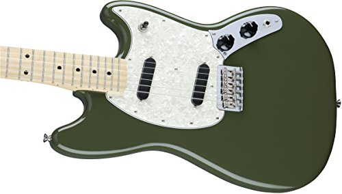 Fender Mustang MN Olive · Chitarra elettrica