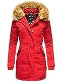 Marikoo Karmaa Cappotto Invernale da Donna XS-5XL Rosso S