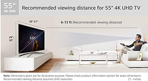 TCL 55 Inches Ultra HD (4K) LED Smart TV (L55P2MUS)