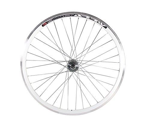 Fixed Gear, Single Speed vorne oder hinten 30mm Rad mit Joytech Flip Flop Track Naben, Joytech Flip Flop, weiß -