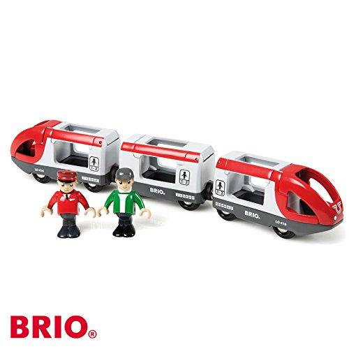 Preisvergleich Produktbild BRIO Reisezug rot/weiß | 33505