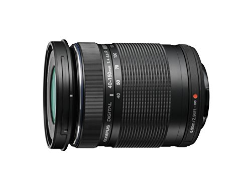 Olympus M.ZUIKO DIGITAL ED 40-150mm 1:4.0-5.6 R Lens - Black