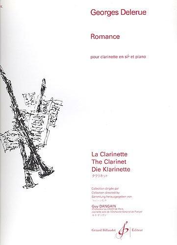 Romance : Pour clarinette si bémol et piano (La Clarinette)