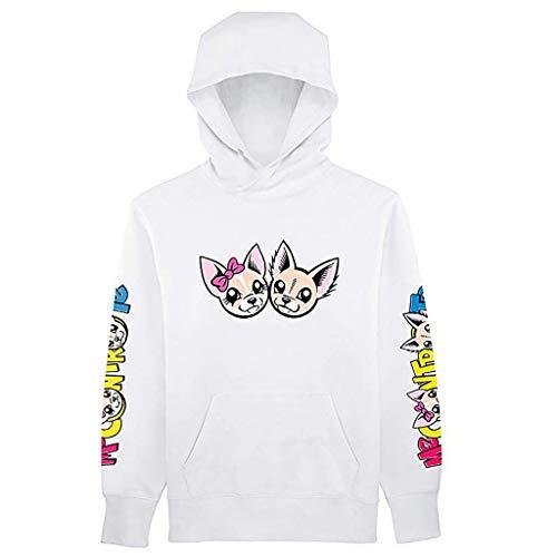 Sayla Baby Jungs Mädchen Winter Bekleidung Warm Winterjack Mädchen Jungen Outfits Langarm Cartoon gedruckt Sweatshirt Tops mit Taschen -