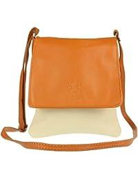 49ebfb917f Craze London Women Mini Genuine Italian Soft Leather Verapelle Cross body  Messenger Bag Shoulder Strap Hand