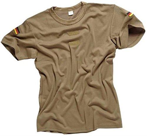 normani Bundeswehr Tropen T-Shirt Unterhemd khaki mit Hoheitsabzeichen Farbe Khaki Größe 6