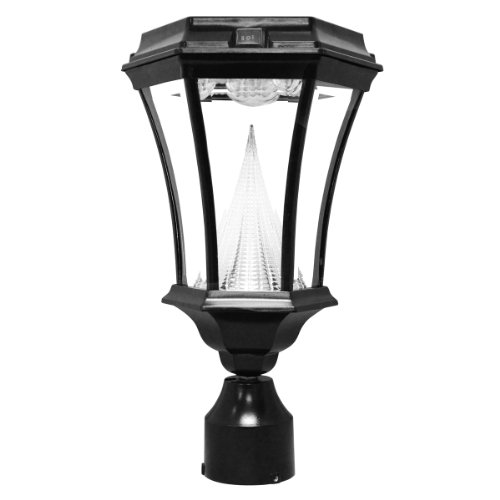 gamasonic-gs-94f-led-solar-lamp-with-3-inch-post-fitter-in-19th-century-historic-gas-light-design-bl