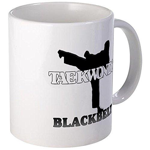 Cafepress-taekwondo cintura nera-unico tazza da caffè, 311,8gram tazze in tazza di caffè, tè, White, small