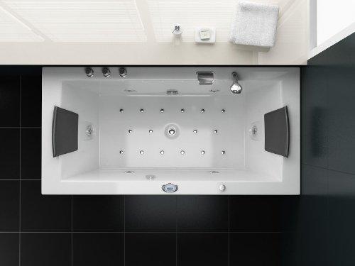 Luxus Whirlpool Badewanne 182x90 im Vollausstattung (Massage) - Sonderaktion - 5