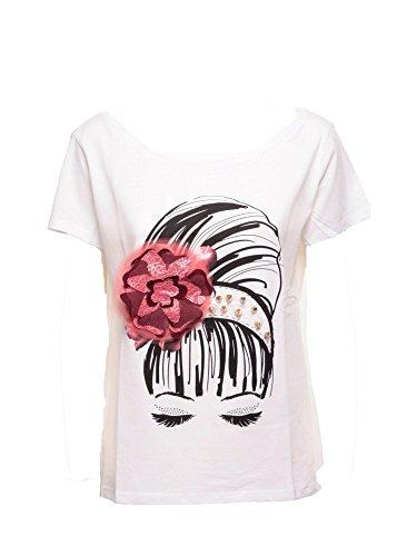 Liu Jo W66036J7756T Tshirt Donna Bianco L