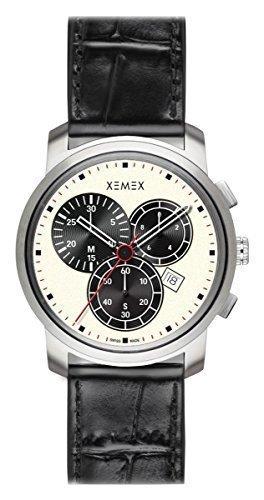XEMEX guardare PICCADILLY QUARTZ rif, 883,24 cronografo