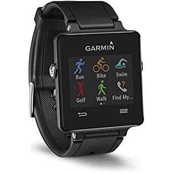 Garmin Vivoactive GPS Smart Watch with Sports Apps - Black