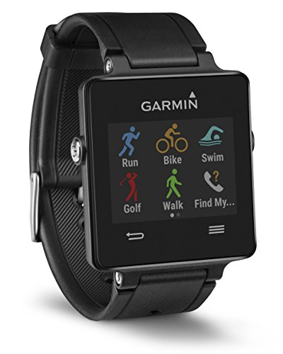 Garmin Vivoactive GPS Smart Watch with Sports Apps – Black