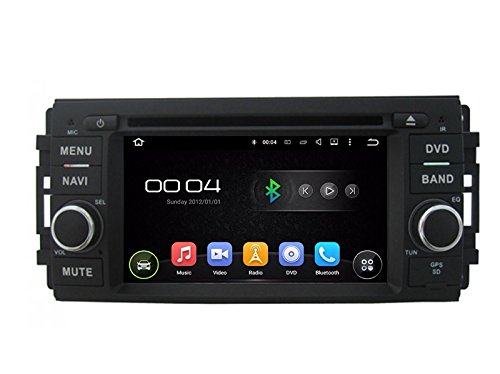 15,7 cm-INDASH Android Auto DVD Player mit GPS Navigation Canbus TV/BT 3 G WiFi, USB/SD AUX, Audio Radio Stereo, Car Multimedia Haupteinheit für Chrysler 300 C Dodge/Jeep 2005 2006 2007 (Stereo-chrysler 300)