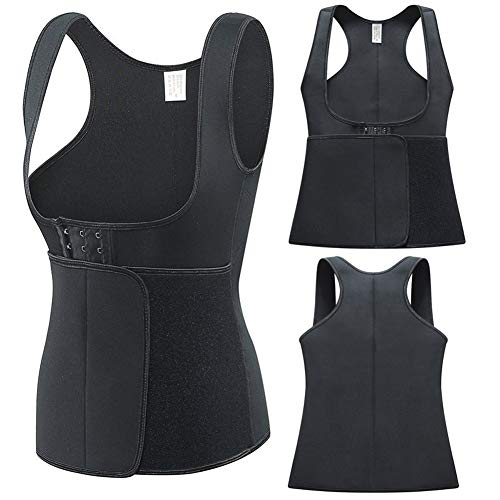 ZQQ Taillentrainer Für Frauen, Frauen Taille Trainer Weste Schlank Korsett Neopren Sauna Tank Top Gewichtsverlust Body Shaper,5XL -