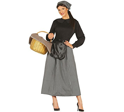 Disfraz Vendeuse de castaña mujer