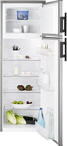 Electrolux EJ2301AOX2 Libera installazione 228L A+ Argento, Acciaio inossidabile frigorifero con congelatore