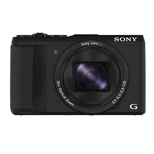 Galleria fotografica Sony DSC-HX60V Fotocamera Digitale Compatta, FHD, Cyber-shot, Sensore CMOS Exmor R da 20.4 MP, Zoom Ottico 30x, GPS, Nero