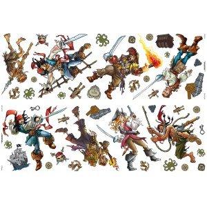 52 Stickers Pirates des Caraïbes de Disney
