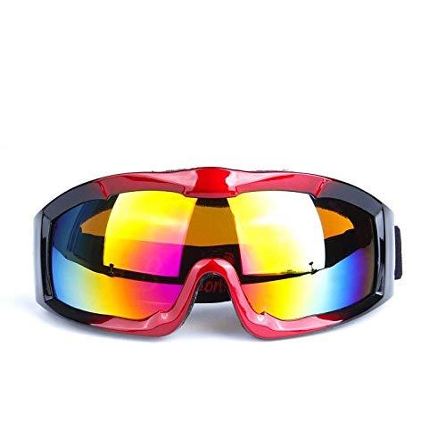 WUJIEXIAN-JXL Radfahren Harley Motorradbrille Männer Retro Winddicht Motorradbrille Offroad Helm Motorradbrille Outdoor-Brille (Color : B) -