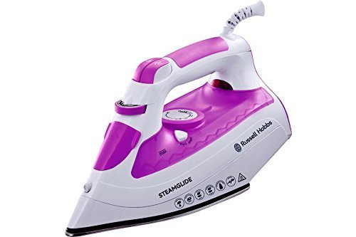 Russell Hobbs 21360 Steamglide Iron, 2600 W - White/Purple by R/HOBBS
