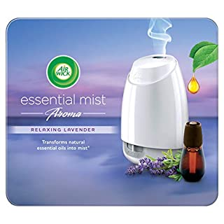 Airwick Air Wick Mist Diffuser, Essential Oils Relaxing Lavender, Gadget and 1 Refill, 20ml