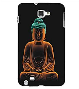 SAMSUNG GALAXY NOTE 1 N7000 LORD Designer Back Cover Case By PRINTSWAG
