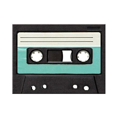 Nostalgic-Art 14293 Retro Wave - Retro Cassette   Retro Magnet   Kühlschrank-Magnet   Vintage   8x6 cm - Vintage Vintage 8