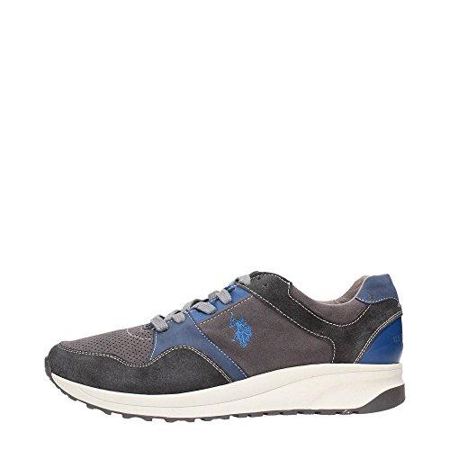 U.S. Polo Assn. SIBYL4082W5/SL1 Sneakers Uomo Crosta Grigio Grigio 43