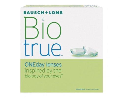 Biotrue ONEday Inspiriert von der Natur Ihrer Augen Tageslinsen weich, 90 Stück/BC 8.6 mm/DIA 14.2 mm/+2.25 Dioptrien