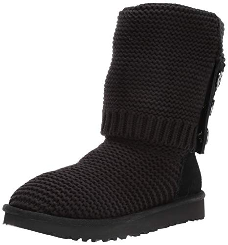UGG Australia Womens Purl Cardy Knit Textile Black for sale  Delivered anywhere in Ireland