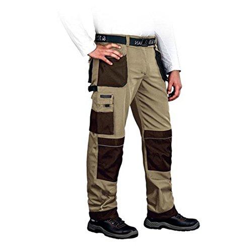 Arbeitshose Gr. 46-62 Leber und Hollman Bundhose Schutzhose Sicherheitshose Arbeitskleidung (50)