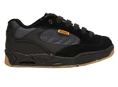 Etnies Skateboard Shoes Schroll Black/Charcoal, schuhgrösse:39