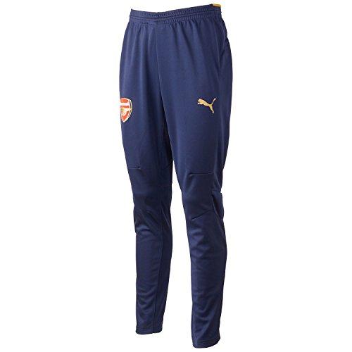 PUMA Herren Hose AFC Training Pants without Pockets, Black Iris, Victory Gold, M, 747612 02 (2-pocket-hose)