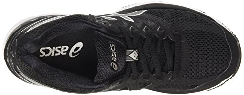 Asics Gt-2000 4, Chaussures de Running Compétition Femme Noir (Black/Noir Onyx/Silver)