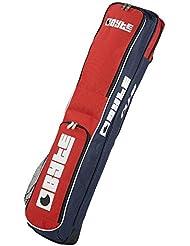 Byte Club palo de Hockey bolsa rojo azul marino