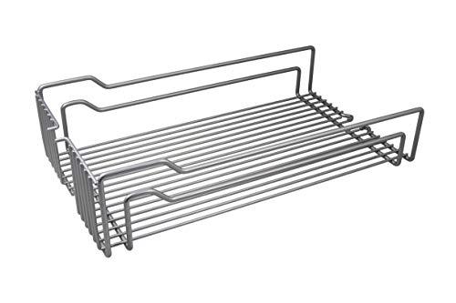 Gedotec Einhängekorb für Kesseböhmer Hoch-Schrank Dispensa | Einhängeboden für 30er Apothekerschrank breite | 250 x 467 x 110 mm | MADE IN GERMANY | 1 Stück - Drahtkorb für Apotheker-Auszug Küche -