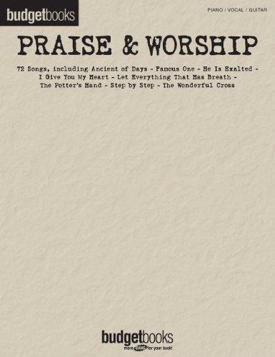 Praise & Worship Songbook: Budget Books